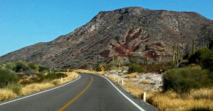 Border to La Paz Mountains 2