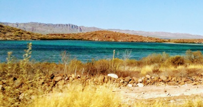The first time I saw the Sea of Cortez!