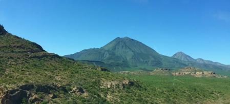 One of the Tres Virgenes volcanos in Mulegé