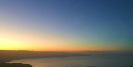Coming into Ensenada at sunrise.